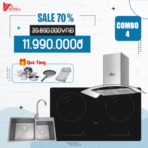 COMBO 4  BẾP CANZY
