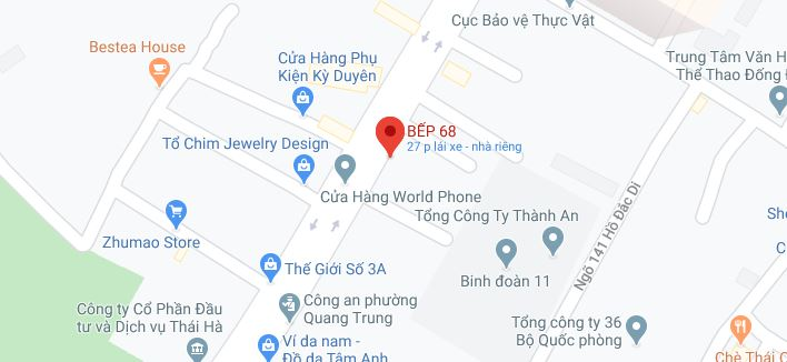 SHOW ROOM BẮC NINH - Bếp 68 | Appliances Kitchen