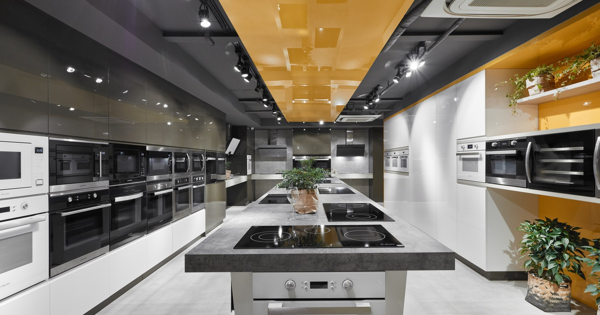 SHOWROOM VŨNG TÀU - Bếp 68 | Appliances Kitchen